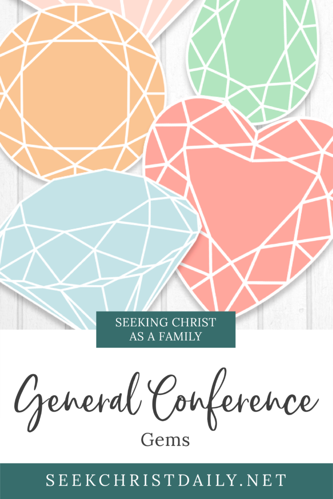 General Conference Gems. A General Conference Study Activity